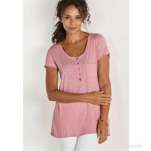 Soft Surroundings Deliah Slouchy Maeve Tee L